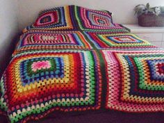 Vintage Crocheted Bedspread by ExploreMyMind on Etsy, $100.00