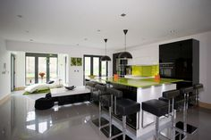 Stunning bespoke kitchen designed specifically for customer at Broomfield Avenue, Halifax.