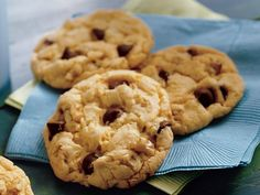 Best chocolate chip cookies ever - except I don't add nuts.  I swear, I made 6 batches of these cookies around Christmas and probably ate half.