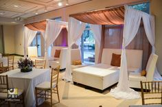 We are a Jacksonville, FL event planning & rental company specializing in events of all types and sizes. Moroccan Theme, Lounge Areas, Cabana, Loft, Events, Bed, Party, Furniture, Home Decor