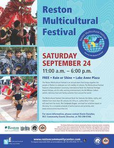 Reston Multicultural Festival, September 24, 2016, Reston, VA