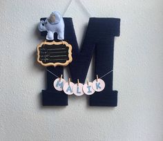 Items similar to Baby Boy Birth Announcement Hospital Door Hanger Yarn Wrapped Wooden Letter/Baby Boy Nursery on Etsy Hospital Door Signs, Hospital Door Hangers, Baby Boy Birth Announcement, Baby Door Hangers, Baby Frame, Letter A Crafts, Baby Boy Rooms, Diy Door, Baby Crafts