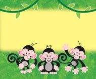 OBlock Books  - Monkey Mischief Name Tags, $3.49 (http://store.oblockbooks.com/monkey-mischief-name-tags/)