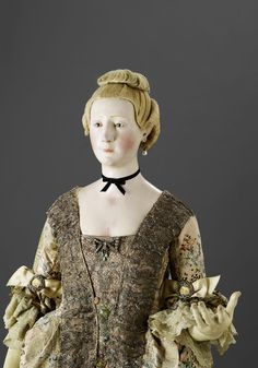 only recorded surviving life-size 18th-Century French mannequin de mode