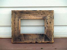 Rustic Picture Frame Wall Frame 4x6 Photo Frame by woodlandhouse, $18.00