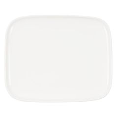 In Good Company Oiva plate 15 x 12 cm, white