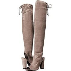 241749ae2f3 6pm Sign In. Grey Knee High BootsAbove ...