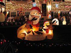like Santa and Pooh Bear burnin' up the North Pole.  Yup, gives ya warm fuzzies, doesn't it?