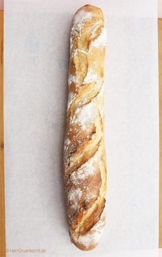 Bake French baguette yourself Mr. Green cooks - Simply bake French baguette yourself – baguette, France, bake, - Scones, Bread Recipes, Baking Recipes, Dessert Oreo, Ciabatta, French Food, Pampered Chef, Bread Baking, Hot Dog Buns