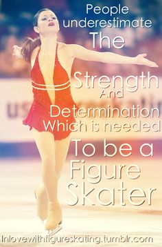 Some people seem to forget this!!! They thinks it's easy to figure skate. Losers.