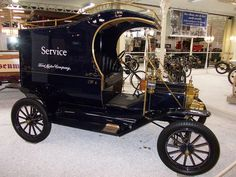C Cab Delivery | Ford Model T C-Cab Delivery Van