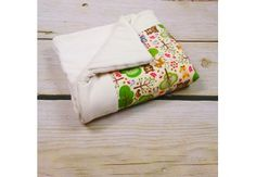 Baby Blanket Friends from the woods - 100% ORGANIC COTTON