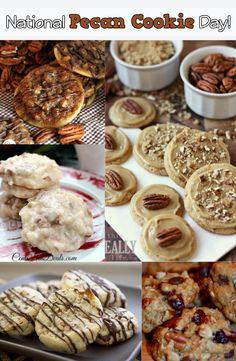 Pecan Cookie Recipe Roundup