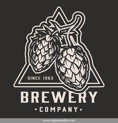 Monochrome Vector Beer Logo Template. Super quality & Editable text! CLICK on the link and find more beer logo templates! #octoberfest #beer #beertshirts#beerillustration #beerdesign #beershirts#vectorillustration #vector #illustration#design #tshirt #appare l#appareldesign#download #edit #dgimstudio #art #drawing #dgimstudio #adobeillustrator Brewery Logos, Beer Shop, More Beer, Beer Caps, Beer Packaging, Beer Shirts, Print Ideas, Beer Lovers, Business Logo