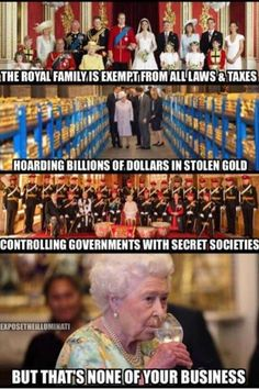 Forget God save the Queen Looks like the Queen is saving herself⚡️ The More You Know, Know The Truth, Weird Facts, Fun Facts, Illuminati Exposed, Big Government, Black History Facts, Thing 1, Truth Hurts