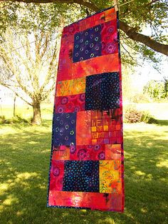 """Batik Table Runner 