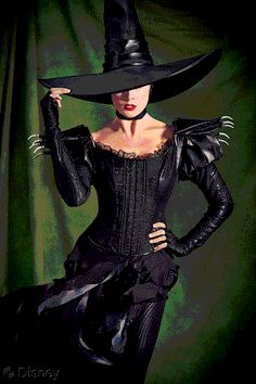 wicked witch of the west costume design - Google Search