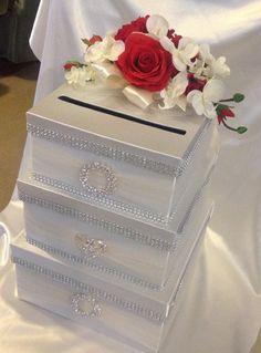 Items similar to Wedding card box, elegant card box, card box, on Etsy Wedding card box elegant card box card box by Thatssolovely Wedding Gift Card Box, Gift Card Boxes, Wedding Boxes, Wedding Table, Wedding Cards, Wedding Gifts, Wedding Mailbox, Wedding Ideas, Wedding Events