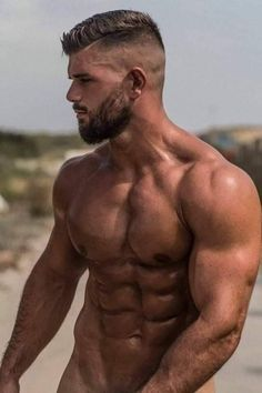 Beautiful Men Faces, Gorgeous Men, Abs Workout V Cut, Ideal Male Body, Abs Boys, Ripped Body, Great Beards, Handsome Black Men, Hot Men
