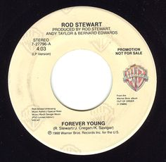 Your kindergarton graduation theme. Now you WILL be forever young....Forever Young by Rod Stewart