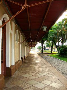 Antiga estação de trem - Old train station