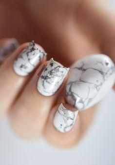 Marine Loves Polish: Nailstorming - De marbre... [VIDEO]