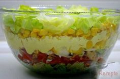 China-Schichtsalat