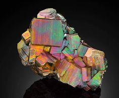 Rainbow pyrite Types of Iridescent Gemstones & Minerals