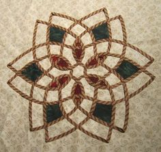 Celtic knot with inlaysauntinicolescorner