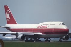 Boeing 747 Air Canada, was the first commercial airliner that I flew on. (that was a while ago)