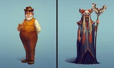 ArtStation - Vadim Bahryi - Собрал тут подборочку персонажей из нашей игры от разных художников Princess Zelda, Fictional Characters, Fantasy Characters