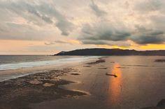 A view from a hill on Lombok Island.    #sunset #beach #ocean