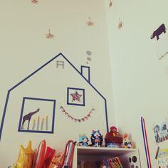 icoさんの、リビング,マステ,キッズスペース (リビング),のお部屋写真