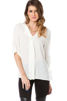 Sosie Parsons Blouse in Ivory