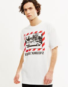 The Hundreds Bobby& T-Shirt White Statement Tees, Mens Style Guide, The Hundreds, Slogan Tee, Spring Summer Trends, Men's Wardrobe, Formal Shirts, Collar Shirts, Style Guides