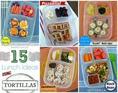 Keeley McGuire: Lunch Made Easy: 15 Tortilla Ideas - Wrap it, Roll it, Bake it!