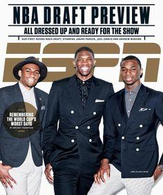 Jabari Parker, Joel Embiid and Andrew Wiggins Grace ESPN Mag Cover