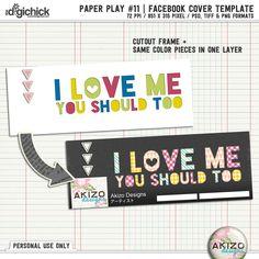 The Digichick :: Templates :: Paper Play 11 | Templates + Bonus