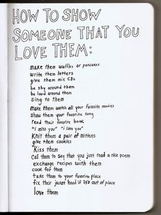 this is just cute. :) I think this will be next week's writing prompt