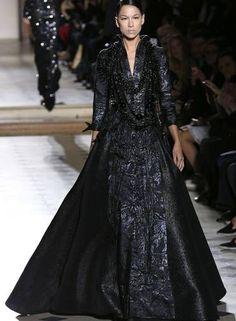 O inverno 2015 couture de Julien Fournie Foto: FRANCOIS GUILLOT / AFP