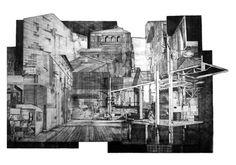 Urbinola I, Aleksandra Błaszczyk, akwaforta, 70 x 100 cm