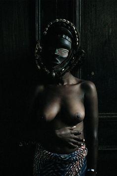 Leonce Raphael Agbodjelou, 'Untitled (Demoiselles de Porto-Novo series),' 2012, Jack Bell Gallery