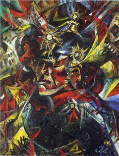 Self-Portrait as Mars - Otto Dix