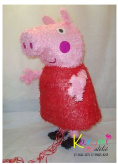 Pinhata Peppa Pig #peppapigpinata