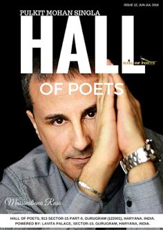 With this issue release, Hall of Poets completes it's one year of Publication (12th Editio...