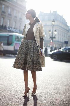 The very stylish Giovanna Battaglia! Fashion Week, Look Fashion, Paris Fashion, Fashion Models, Autumn Fashion, Womens Fashion, Fashion Trends, Net Fashion, Fashion Editor