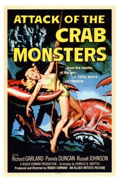 Attack Of The Crab Monsters,,,Movie Poster