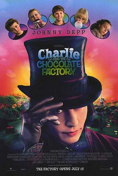 Book: In which Willy Wonka is an esoteric entrepreneur seeking sincerity.  Movie: In which Johnny Depp is so over-the-top that you can hear Nicolas Cage weeping.