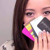 Rewind Wednesday: Using Business Cards for Makeup #makeup #tricks
