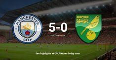 Premier League Fixtures, Manchester City